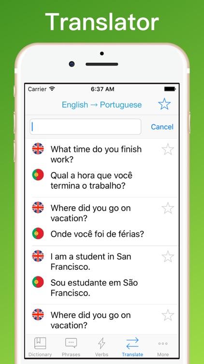 Portuguese Translator +