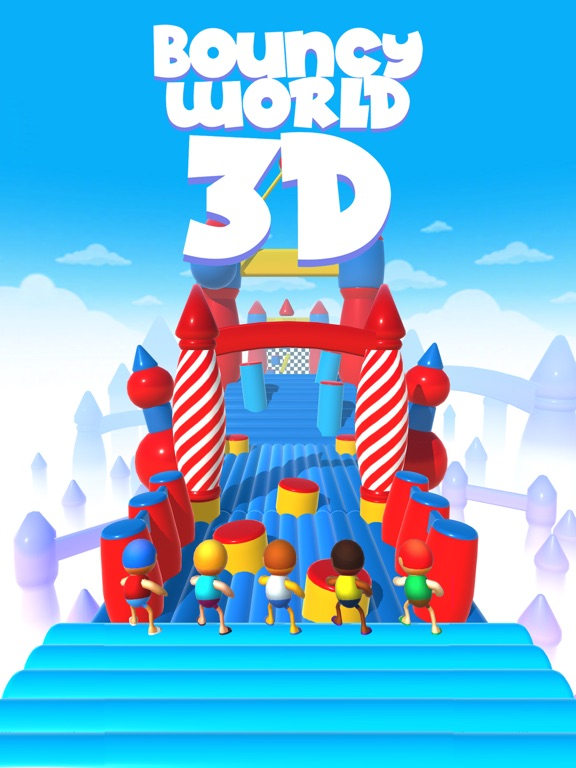 Bouncy World 3D screenshot 5