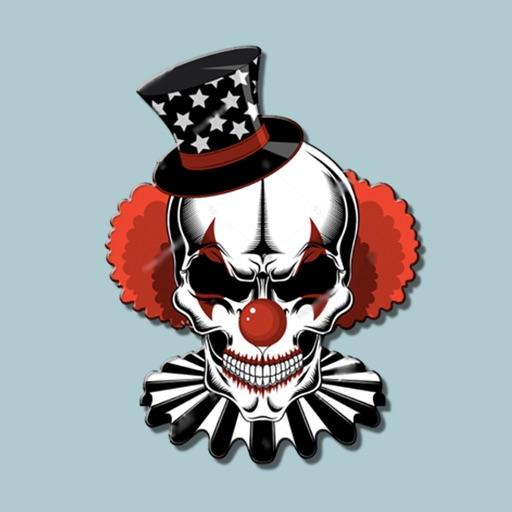 Bad Clown Stickers