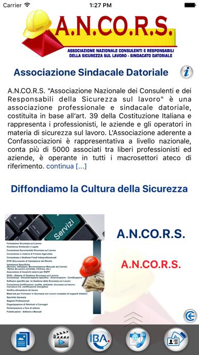 Screenshot of ANCORS1
