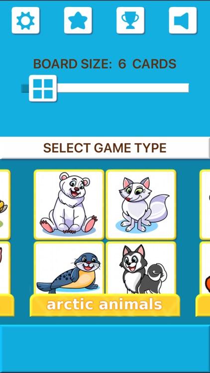 Animal Memory Matching Games screenshot-4