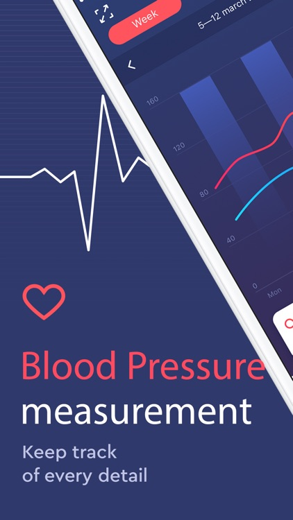 Blood Pressure app BP Checker screenshot-0