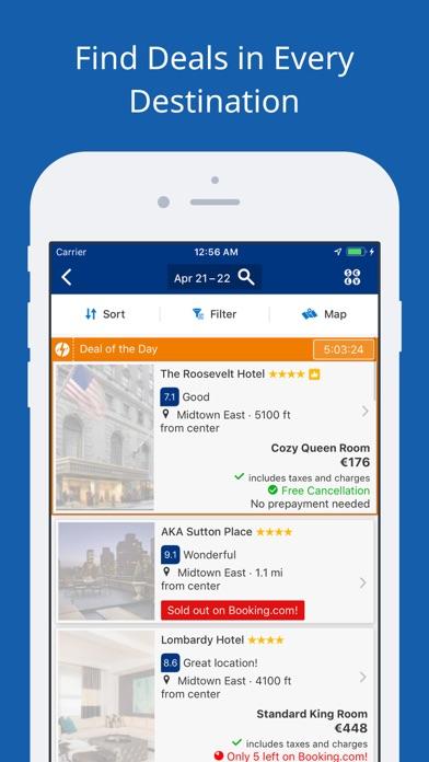 Bookingcom review screenshots