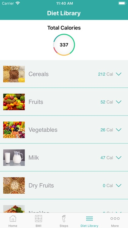Calorie Counter - Daily Steps