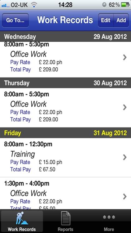 Pay Diary