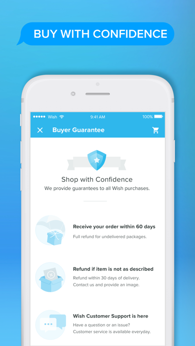 Screenshot for Wish - Shopping Made Fun in Ukraine App Store