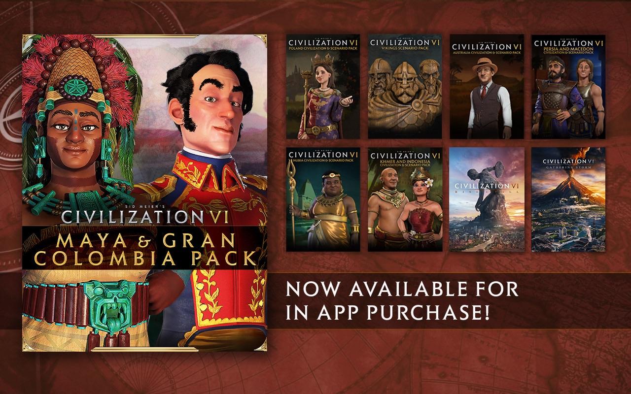 Screenshot do app Civilization® VI