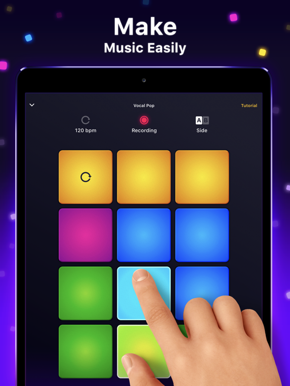 iPad Image of Drum Pad Machine - Beat Maker