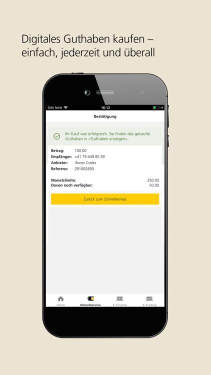 PostFinance Mobile screenshot-3