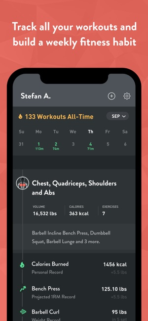 Fitbod Weight Lifting Workout on the App Store