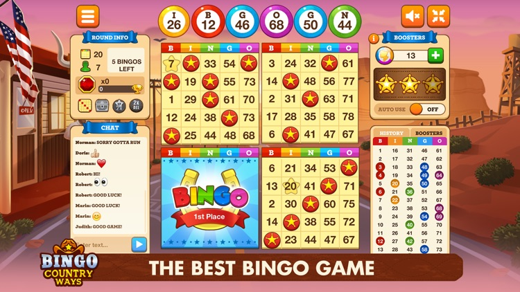 Bingo Country Ways -Bingo Live screenshot-0