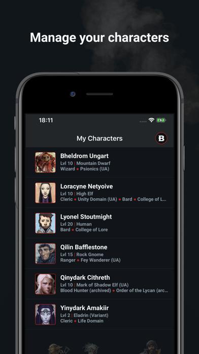 D&D Beyond Player Tools screenshot #2