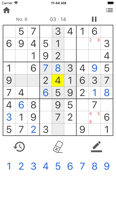 Daily Sudoku - Brain Training screenshot 1