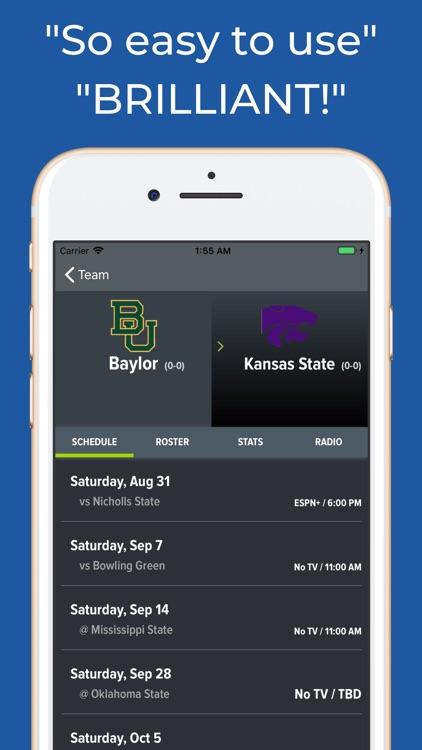 Baylor Football Schedules screenshot-8