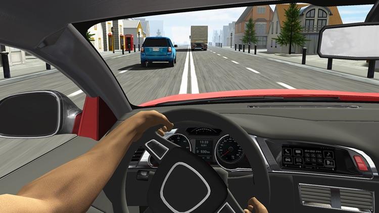 Racing in Car screenshot-3