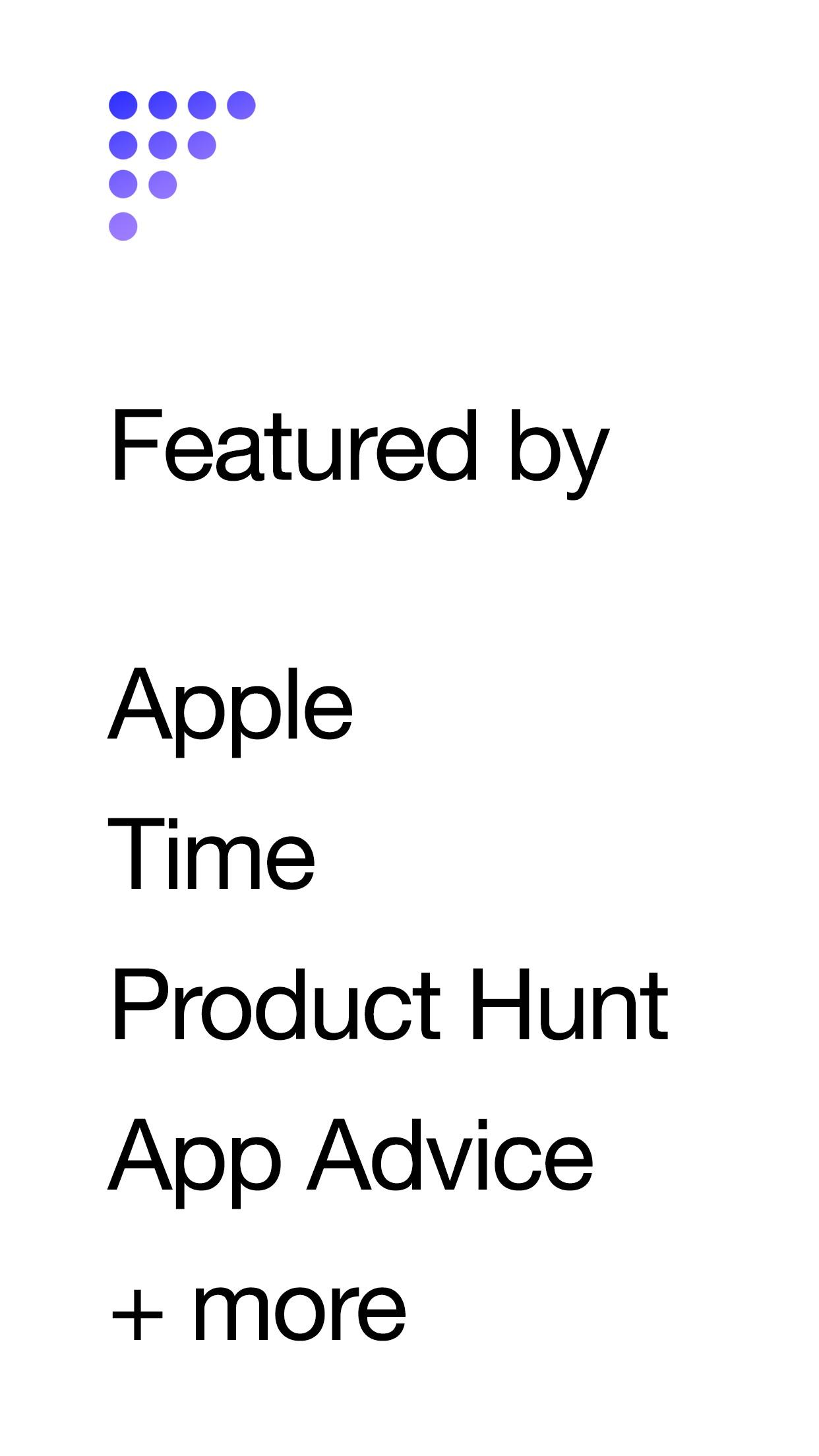 Screenshot do app Funnel