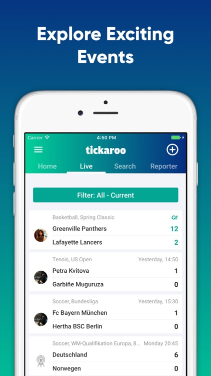 Tickaroo Live Sports