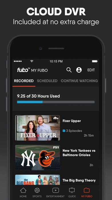download fuboTV: Watch Live Sports & TV apps 6