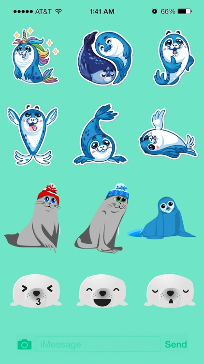 Seal Animated Stickers Pack screenshot-4