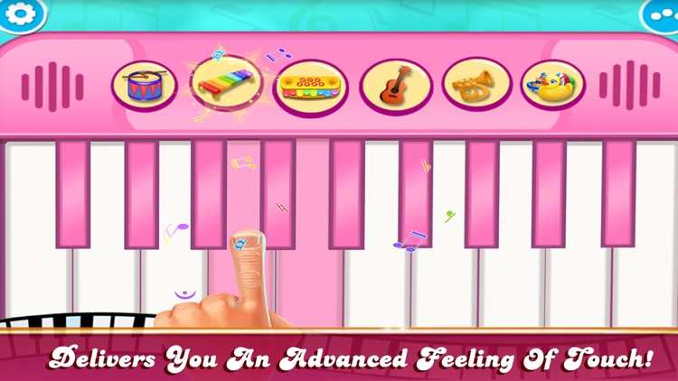Girly Pink Piano Simulator screenshot-4