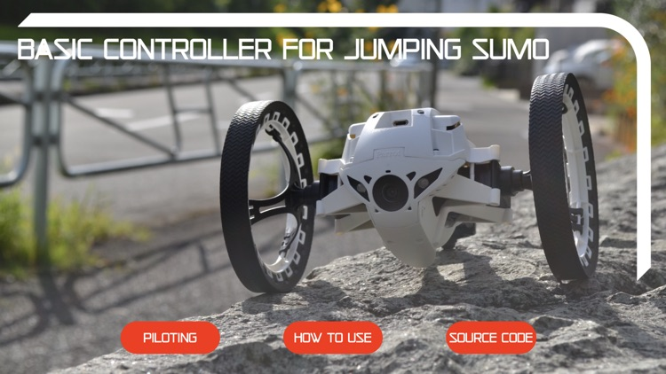 Basic Controller Jumping Sumo screenshot-0