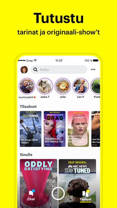 Screenshot for Snapchat in Finland App Store