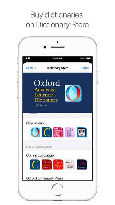 Dictionaries Screenshot