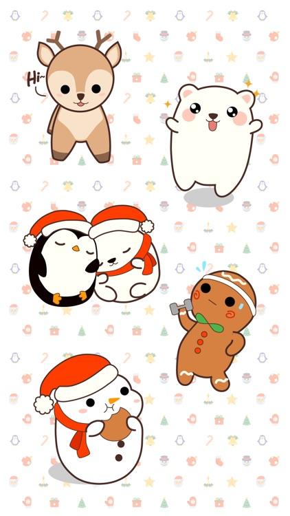 Cute Kawaii Christmas screenshot-3