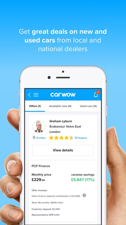 carwow: find new car deals