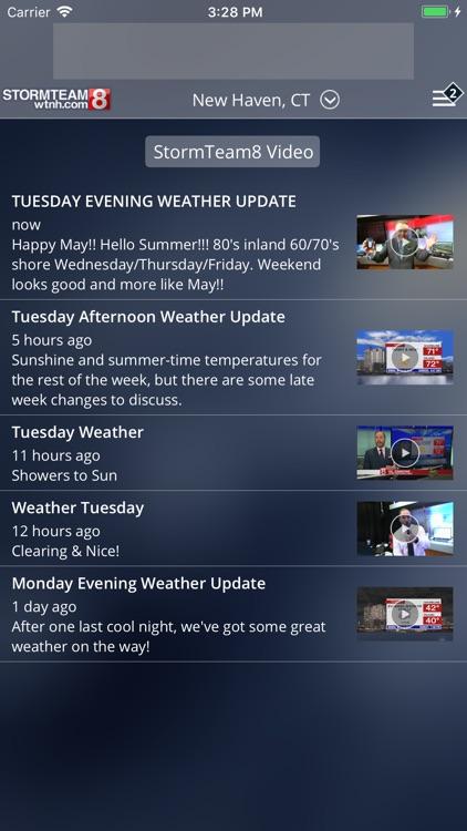 StormTeam8 - WTNH Weather screenshot-3