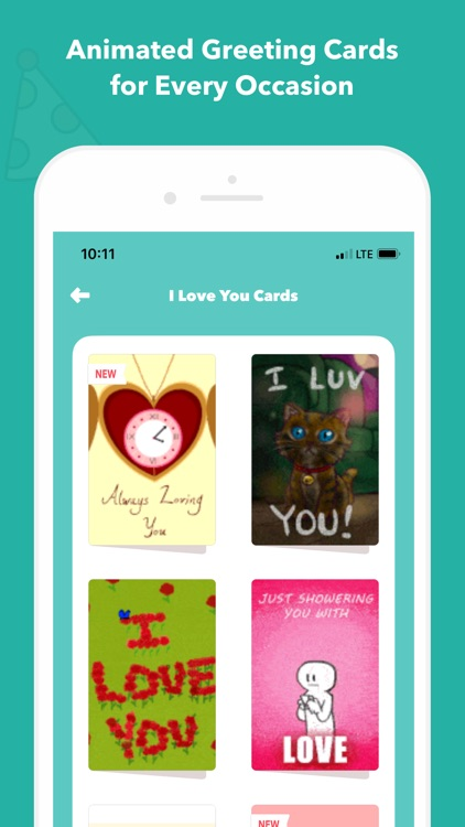 CardSnacks: ecards, greetings screenshot-5