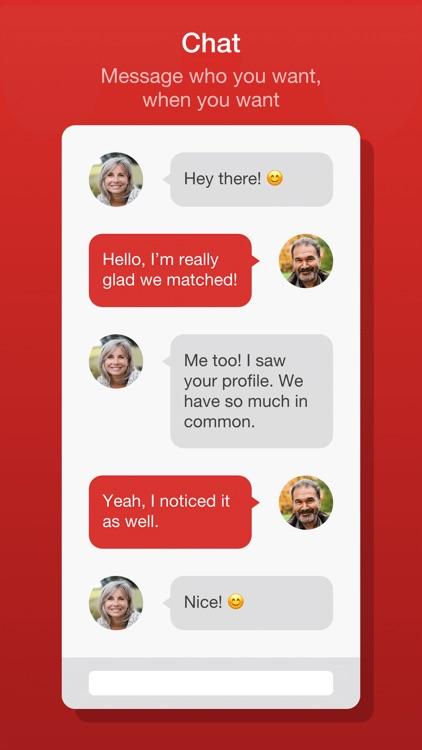 Dating for Seniors - Chat App screenshot-3