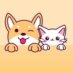human talk to dog&cat