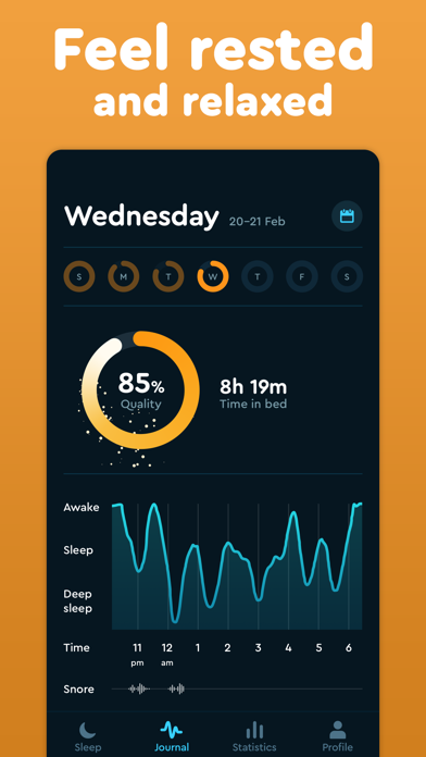Sleep Cycle: smart alarm clock Screenshots