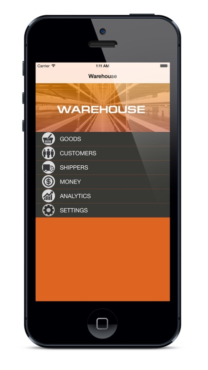 """Warehouse""   in your phone"
