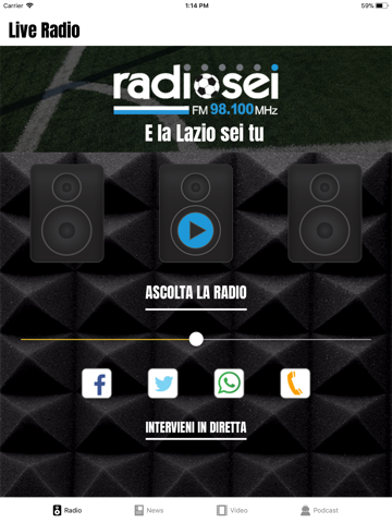 Radiosei - náhled