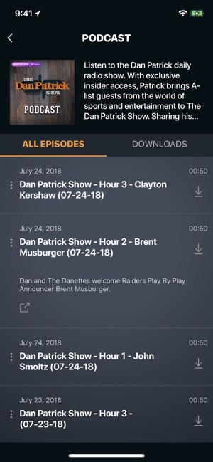 a60a20add30e The Dan Patrick Show on the App Store