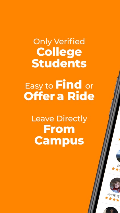 Wheeli College Carpooling App