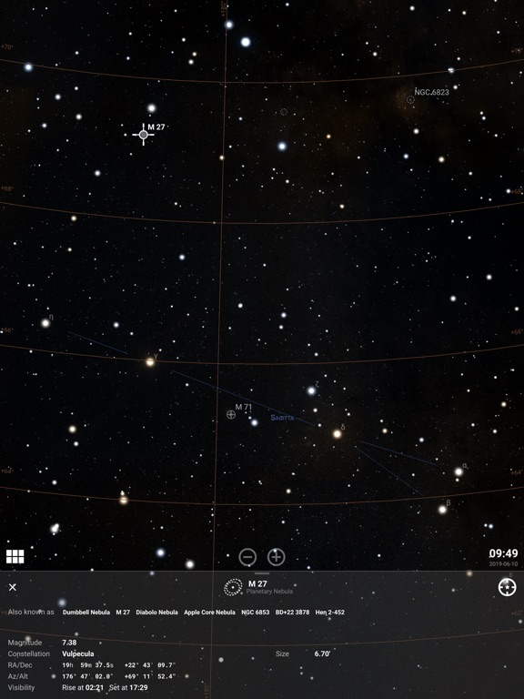 Stellarium PLUS - Star Map screenshot 10