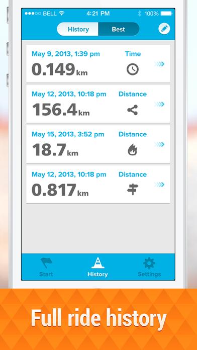 Bicycle ride tracker PROのおすすめ画像3