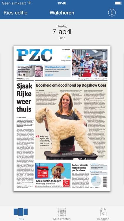 PZC - Digitale krant