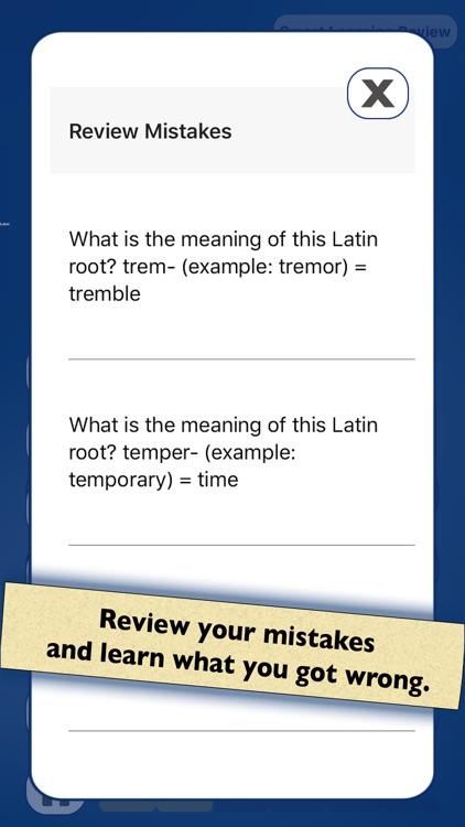 Vocabulary: Greek Latin Roots screenshot-4