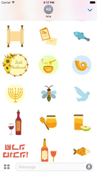 Happy Rosh Hashanah Sticker screenshot 3