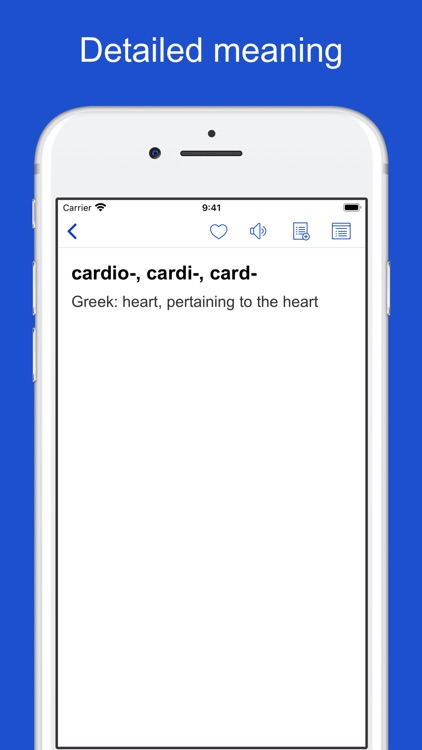 Medical Terminology Etymology screenshot-8