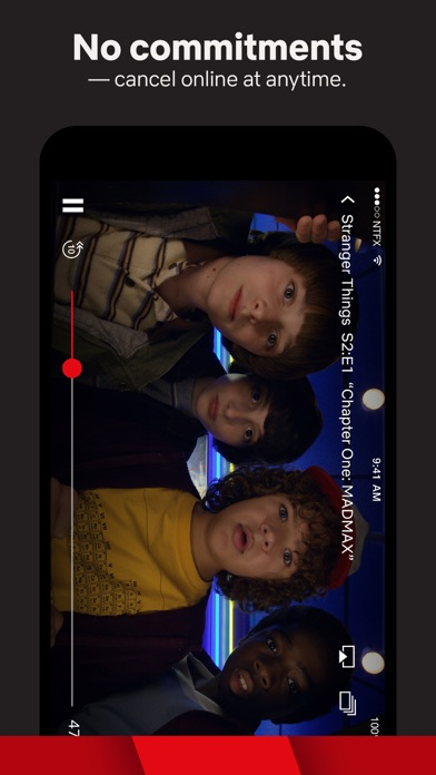 Screenshot for Netflix in Ukraine App Store