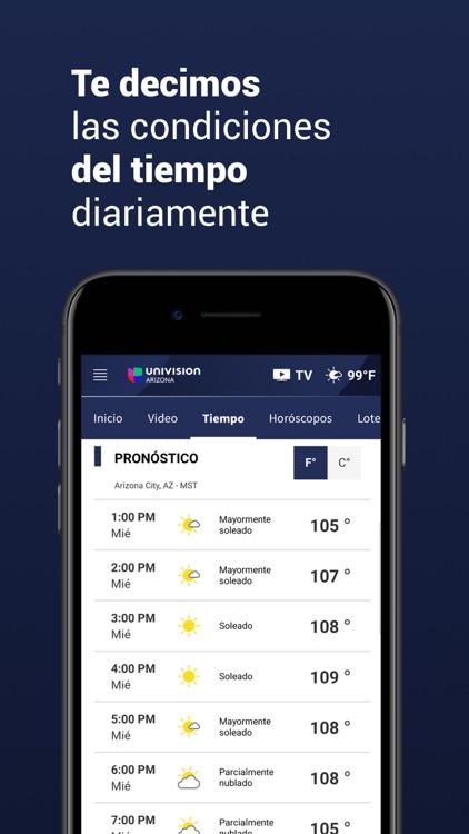 Univision Arizona screenshot-3