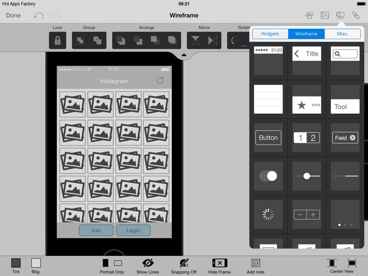 AppCooker Prototyping & Mockup screenshot-4