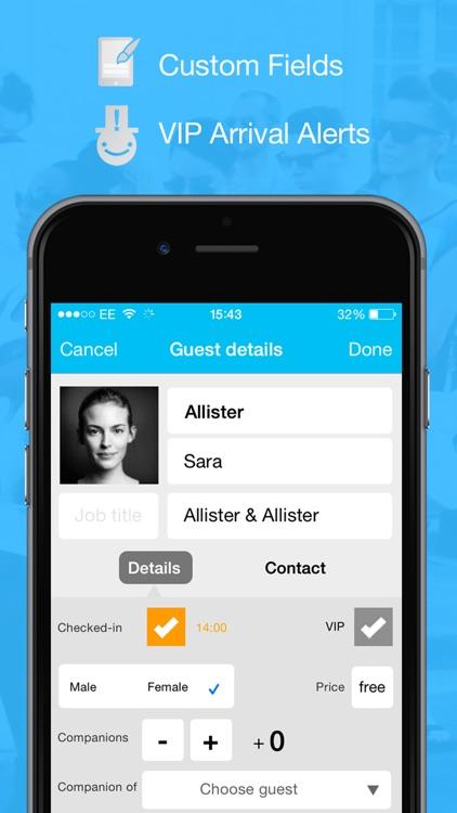 Guest List App | Snafflz screenshot-3