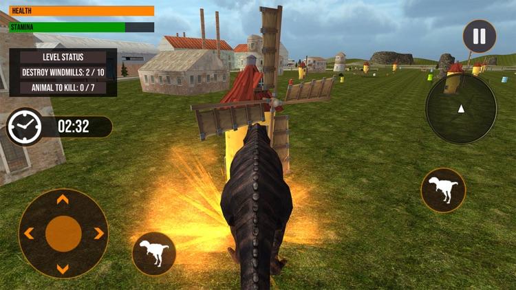 Dinosaur in Fighting Arena screenshot-4