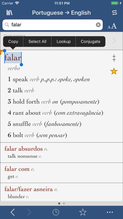 Ultralingua Portuguese-Englishのおすすめ画像1